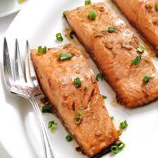 Maple Teriyaki Salmon Fillets Recipe ...