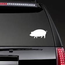 Large Pig Sticker