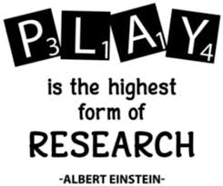 Amazon Com Play Is The Highest Form Of Research Inspirational Quote Wall Decal Genius Education Science Vinyl Sticker Lettering Print Art Home Poster School Classroom Kids Boys Room Playroom Decor 36asl Kitchen