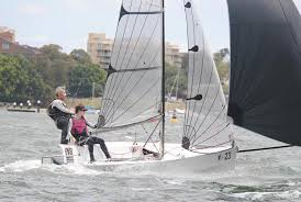 Adele Phillips, sailing her newly renovated boat ``That Bad Girl ...