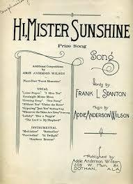 1923 Dothan Alabama song @ Georgia's Frank Stanton; ADDIE ANDERSON WILSON  Dothan   eBay