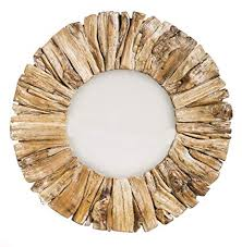 natural beauty driftwood mirror