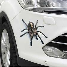3d Spider Lizard Scorpion Car Sticker 3d Animal Pattern Vehicle Window Mirror Bumper Decal Decor Water Resistant High Stickiness Aliexpress