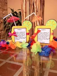 Luau Invitations Invitaciones Hawaianas
