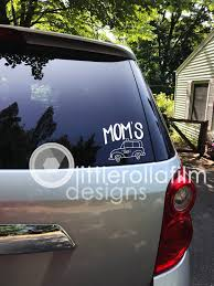 Car Decal Mom S Taxi Gift For Her Gift For Mom Gift For Women Gift For Car Car Accessory Gift Mother S Day B Vinyl Decals Handmade Shop Nautical Gifts