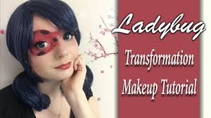 ladybug transformation makeup tutorial