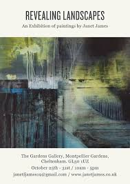 Revealing Landscapes - This October at the Garden's Gallery! — Janet James