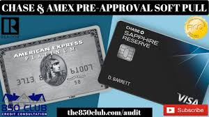 chase american express pre approval
