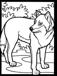 Wolf Kleurplaat Gratis Kleurplaten Printen