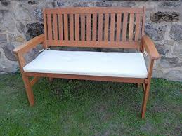 heavy duty wooden 2 seater garden bench