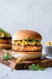 Thai-style Salmon Burgers ...