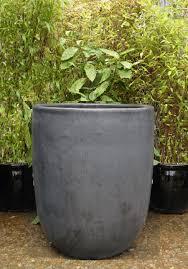 extra large grey garden pot u planter