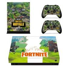 Fortnite Battle Royal Logo Battlefield Xbox One X Decal Skin Saiyan Stuff