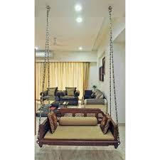 brown antique indoor teak wood sofa
