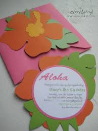 Hawaiian Birthday Party Invitaciones De Moana Invitaciones