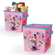 Disney Minnie Mouse Storage Cube With Rope Handles Set Of 2 Walmart Com Walmart Com