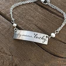 wifey mama lucky bracelet wife life