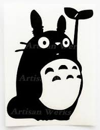 My Neighbor Totoro Vinyl Decal Sticker Manga Anime Car Window Laptop Vinyl Decal Ebay