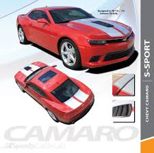 S Sport 2014 2015 Chevy Camaro Ss Hood Rally Racing Stripes Vinyl Graphics Trunk Oem Style Decal Kit Speedycardecals Fast Car Decals Auto Decals Auto Stripes Vehicle Specific Graphics
