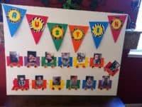 adorable homemade birthday banners