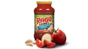 some types of ragu pasta sauce are