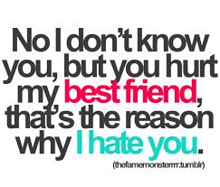 don t hurt my best friend simple as that best friend quotes