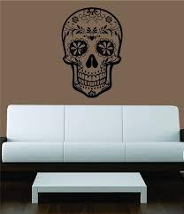 Spooky Skull Wall Decals Skull Wall