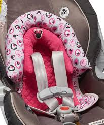 pink minnie infant car seat head
