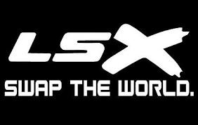Lsx Swap The World Vinyl Decal White Chevy Ls Car Truck Track Sticker Ebay
