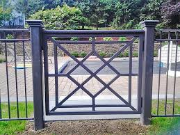 Decorative Wrought Iron Pool Fence Wrought Iron Pool Fence Fence Design Iron Fence