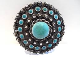 vintage sterling silver and turquoise