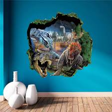 On Sale Amazing Boys Room Decor 3d Wall Stickers Dinosaur Home Decor Living Room Bedroom Kids Room Pvc Wall Decals Mural Art Art Cake Decorating Art Deco Christmas Decorationsart And Craft Christmas Decorations