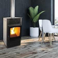 gravity feed pellet fireplace free