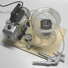 vacuum chamber for testing pressure and