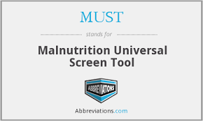 must malnutrition universal screen tool