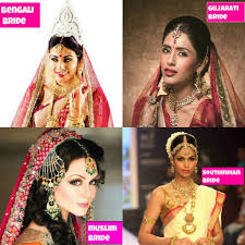 diffe styles of wedding makeup