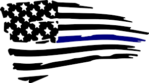 Thin Blue Line Flag Decal Drew S Decals