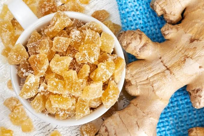 Dry Ginger Cubes
