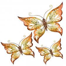 Ideas Dazzling Butterfly Wall Decor Wall Art Design For Amazing Wall Home Decor Island Blues Com
