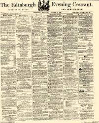 Edinburgh Evening Courant Archives, Oct 2, 1867, p. 1