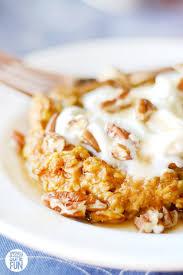 baked pumpkin pie oatmeal low fat