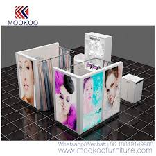 makeup display showcase manufacturers
