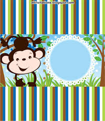 Kit Baby Shower Tema Changuito Tarjetas De Baby Shower