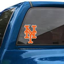 New York Mets 8 Color Team Logo Car Decal