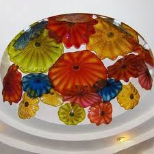 hand made glass blowing ceiling lights