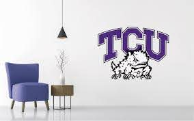 Tcu Horned Frogs Football Ncaa Wall Decal Sticker Egraphicstore