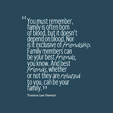 trenton lee stewart quote about family