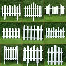White Plastic Fence Naturalbarker Com