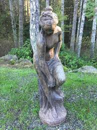 beautiful vintage garden statue 34