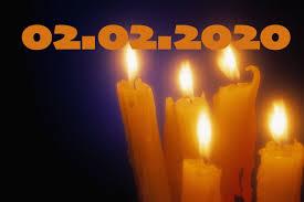 Candelora palindroma domenica 02-02-2020, combinazione rara ...